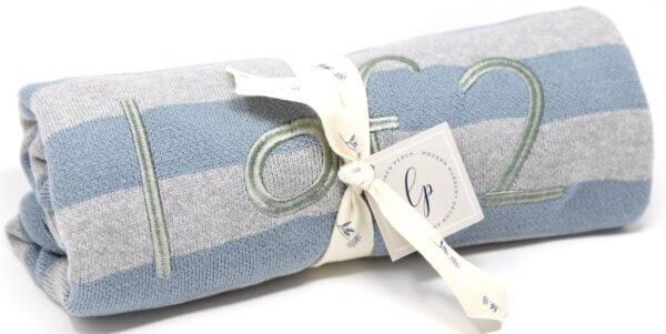 blue twin baby blanket