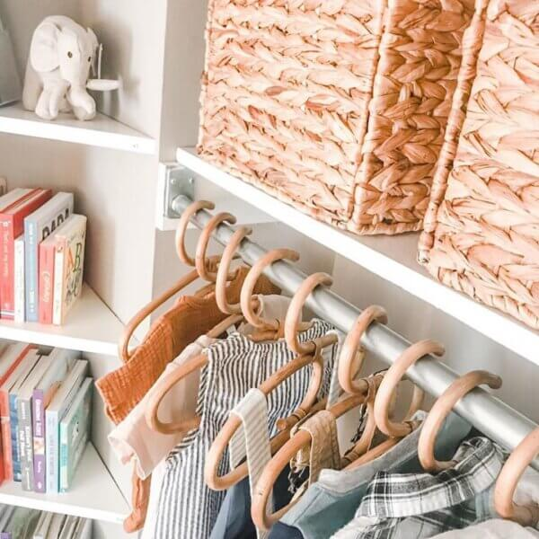 rattan baby hangers