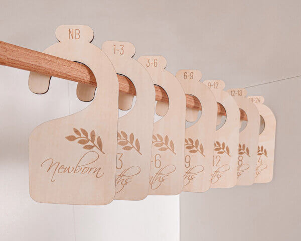 closet dividers for nursery