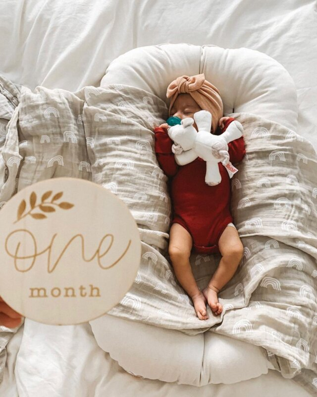 """Happy one month, baby! Have you checked out Linen Perch's brand new Wood Milestone Discs? If not, drop everything and head to our website because these adorable memory-markers are going fast!   This Linen Perch original set includes 13 engraved discs including month one to eleven, one year and a disc to announce your little ones arrival!   Check it out at the Linen Perch website (link in bio)!  ¡""""Wood Milestone Discs"""" están disponibles en español! Búsquelos en nuestro sitio web (siga el enlace del sitio web en nuestra página).  #babyshowergift #throwpillows #lamas #nursery #nurserydecoration #nurseryinspiration #nurseryinspo #nurseryideas #throwpillows #cutepillows #nurserygift  #babygifts #cottonpillows #babydecorideas #babynurserydecor #babyshowgifts #bestbabygifts #babyshower #lamapillow #cutethrowpillow #giftideas #linenperch #nurserydecor #cutepillows"""