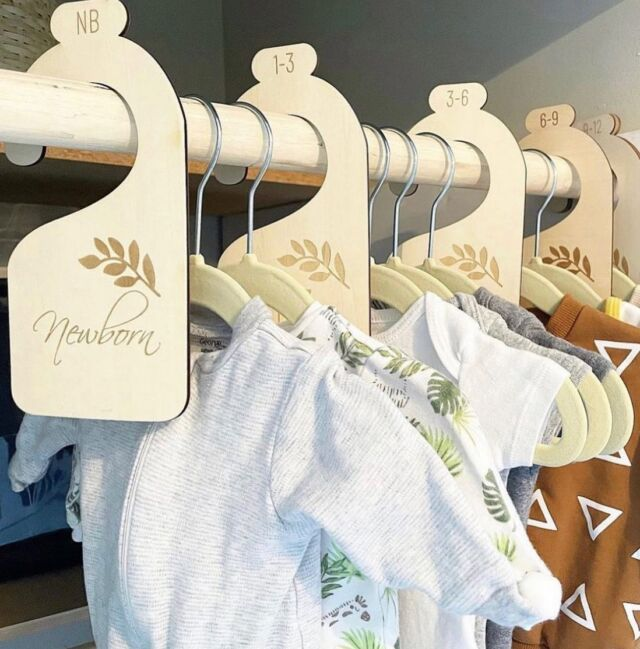 Look at these #ClosetGoals!   At Linen Perch, we believe in bringing parents practical yet stylish nursery solutions. Our brand new Nursery Closet Dividers include a set of 7 dividers that will help you organize baby's closet as he/she grows. These basswood dividers are engraved with newborn, 3-6 months, 6-9 months, 9-12 months, 12-18 months and 18- 24 months. These closet organized pair wonderfully with our vintage-inspired Rattan Children's Hangers (pictured here), for a Linen Perch-inspired closet re-do!  Available today on the Linen Perch website (link in bio) or on our IG store!  #linenperch #closetorganization #nurserycloset #nurseryhangers #nurseryinspo #closetmakeover #babyshower #babygoods #rattannursery #bohostyle #bohonurserydecor #bohonursery #momlife #dadlife #momsofinstagram #dadsofinstagram #babyinfluencer #influencer #babygirl #babyboy #closetideas #closetmakeover #nurserycloset #babyclothing #babyreveal #newmom #newdad